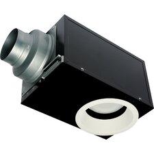 WhisperRecessed 80 CFM Energy Star Bathroom Fan with Light