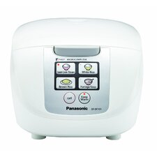 5-Cup Microcomputer Controlled Fuzzy Logic Rice Cooker with 1 Touch Cooking