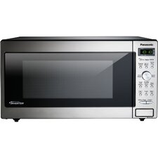1.6 Cu. Ft. 1250W Genius Sensor Countertop/Built-In Microwave with Inverter Technology