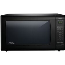 2.2 Cu. Ft. 1250W Genius Sensor Countertop Microwave Oven with Inverter Technology