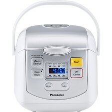 8-Cup Microcomputer Controlled Rice Cooker