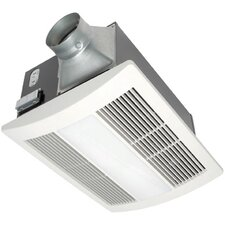 WhisperWarm 110 CFM Bathroom Fan/Heat/Light Combination