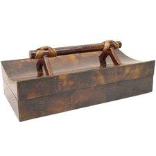 Penshell Box with Handle