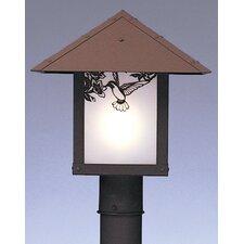 Evergreen 1 Light Outdoor Post Light