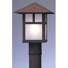 "Evergreen 1 Light 9"" Outdoor Post Lantern"