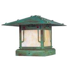 Pagoda 1 Light Pier Mount Light
