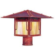 Pagoda 1 Light Outdoor Post Light