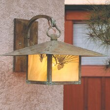 Monterey 1 Light Outdoor Wall Lantern
