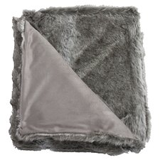 Koala Faux Fur Throw Blanket
