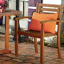 Sanford Stacking Dining Arm Chair