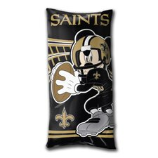 NFL New Orleans Saints Juvenile Folded Lumbar Pillow