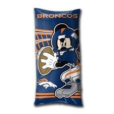 NFL Denver Broncos Juvenile Folded Lumbar Pillow