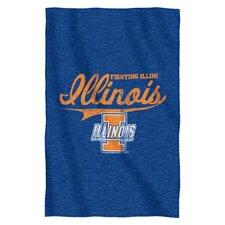 Collegiate Illinois Blanket