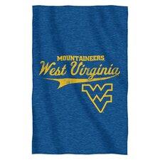Collegiate West Virginia Blanket