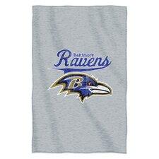 NFL Ravens Throw Blanket
