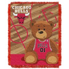 NBA Bulls Half Court Baby Throw