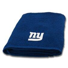 NFL NY Giants Applique Bath Towel