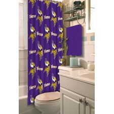 NFL Vikings Shower Curtain