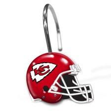 NFL Helmet Shower Curtain Rings