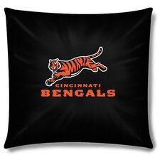 NFL Cincinnati Bengals Cotton Throw Pillow