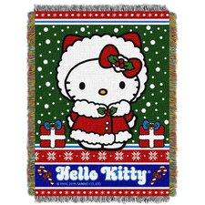 Hello Kitty Snow Kitty Throw