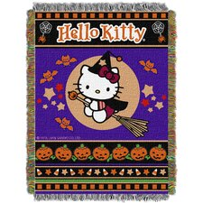 Hello Kitty Witchy Kitty Throw