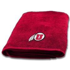 Collegiate Utah Bath Towel