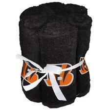 NFL Bengals Wash Cloth (Set of 6)