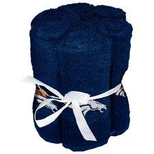 NFL Broncos Wash Cloth (Set of 6)