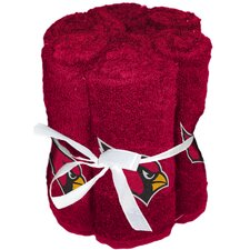 NFL Cardinals Wash Cloth (Set of 6)