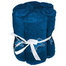 NFL Lions Wash Cloth (Set of 6)