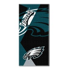 NFL Eagles Puzzle Beach Towel