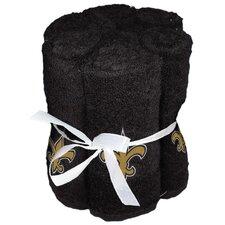 NFL Saints Wash Cloth (Set of 6)