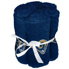 NFL Rams Wash Cloth (Set of 6)