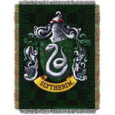 Harry Potter Slytherin Shield Throw