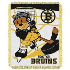 NHL Bruins Baby Polyester Fleece Throw