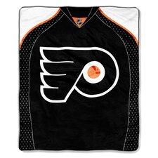 NHL Philadelphia Flyers Puck Super Plush Throw