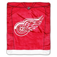 NHL Detroit Wings Super Plush Throw