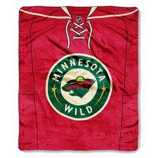 NHL Minnesota Wild Puck Super Plush Throw
