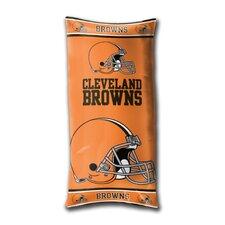 NFL Cleveland Browns Juvenile Folded Lumbar Pillow