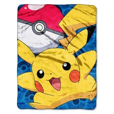 Pokemon Micro Raschel Throw