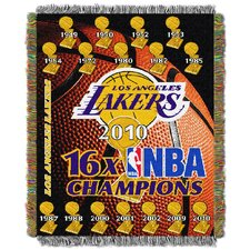NBA Los Angeles Lakers Tapestry Throw