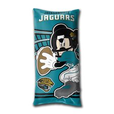 NFL Jacksonville Jaguars Mickey Mouse Lumbar Pillow
