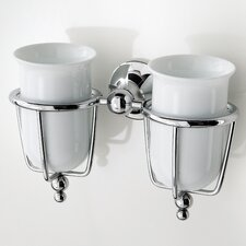 Venessia Double Tumbler Holder with Tumblers