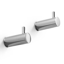 Picola Wall Mounted Bathroom Hooks (Set of 2)