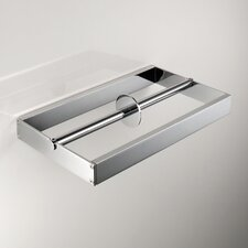 Skuara Wall Mounted Double Toilet Paper Holder