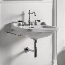 Waldorf Wall-mount Bathroom Sink with Overflow