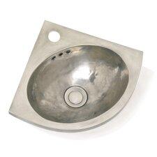Metal Corner Bathroom Sink
