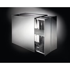 """Linea Pika 24.4"""" x 22"""" Surface Mount Medicine Cabinet"""