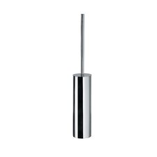 "Complements 3.2"" x 3.2"" Skoati Toilet Brush Holder in Stainless Steel"